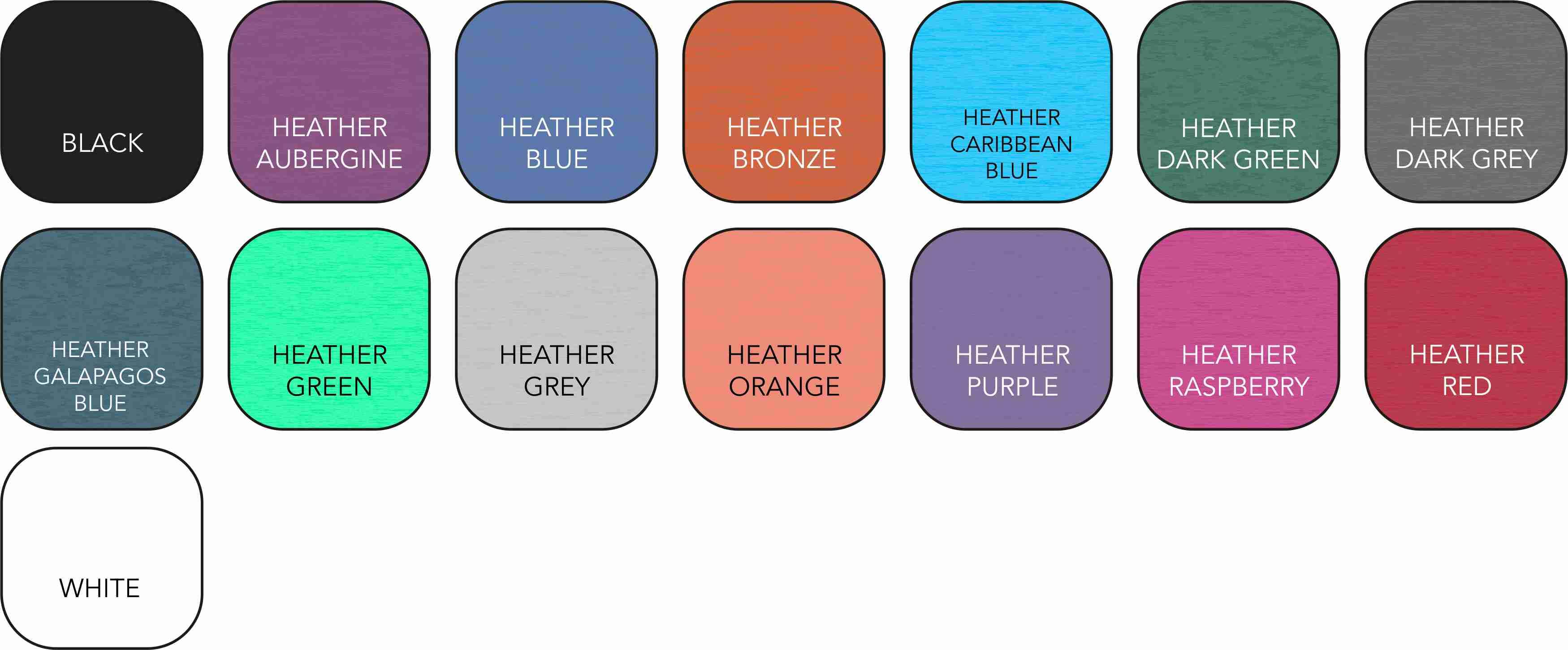 AV112 Ladies' Colour Range