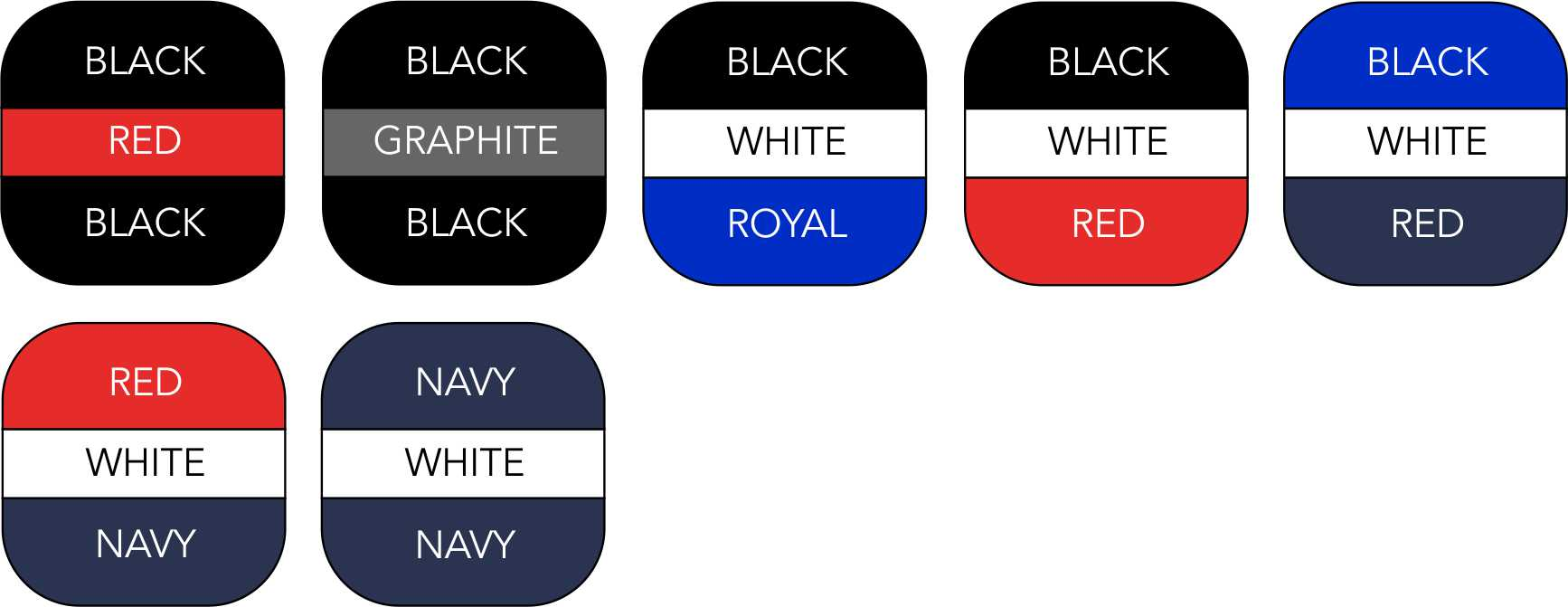 BG572 Colour Range