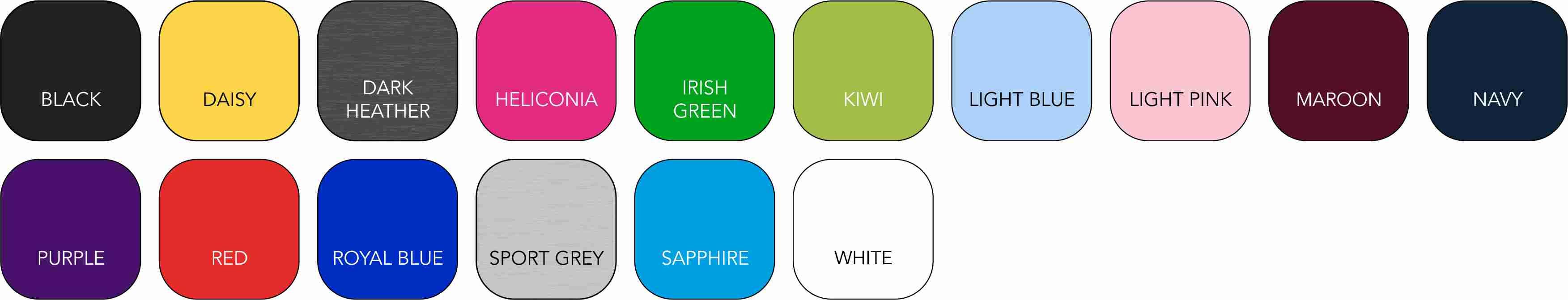 GD042 Ladies' Colour Range