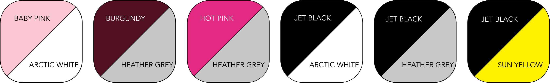 JH043 Ladies' Colour Range