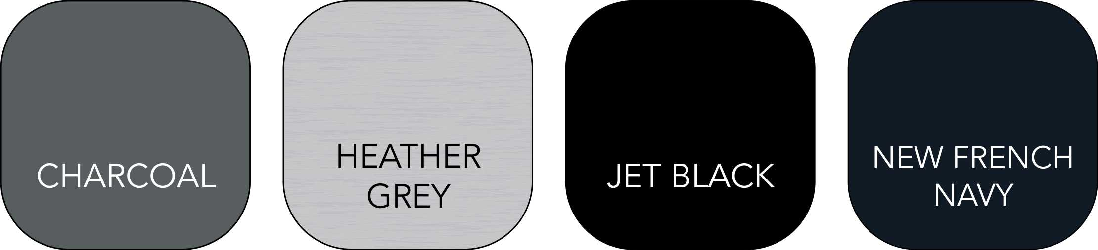 JH072 Unisex Colour Range