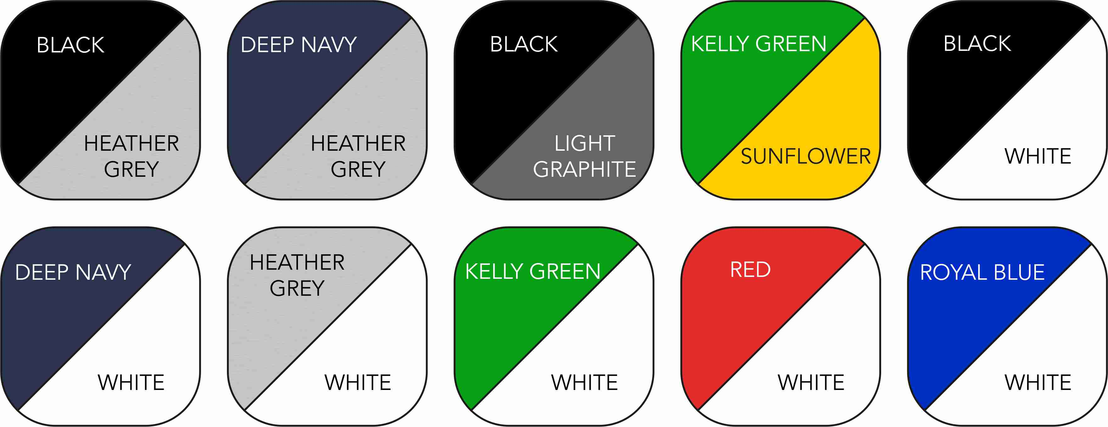 SS026 Short Colour Range