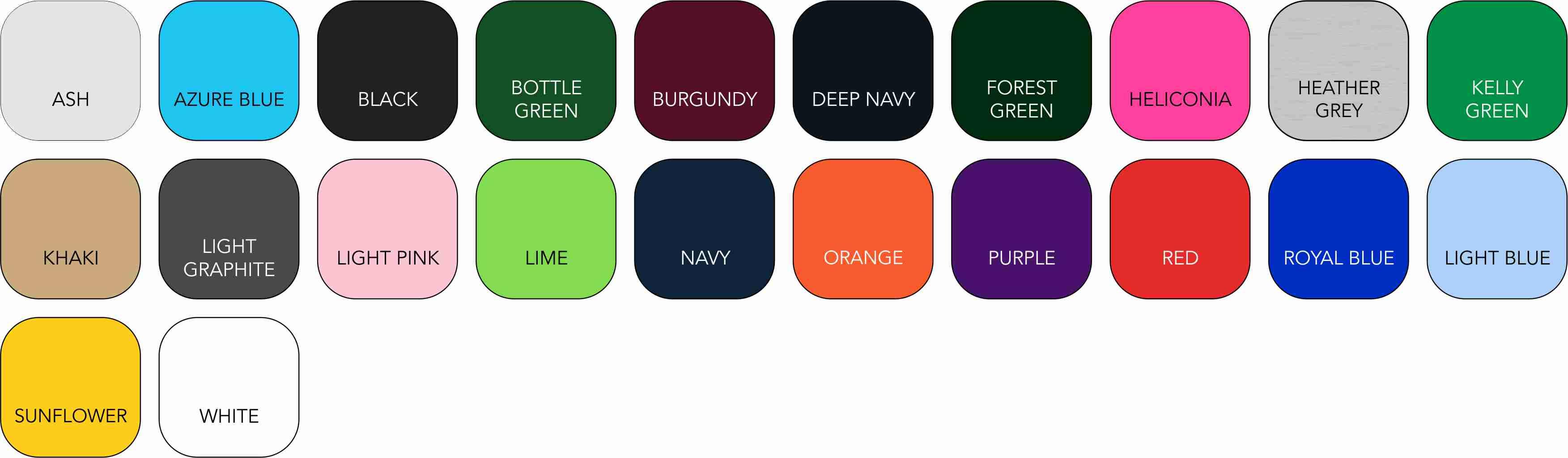 SS255 Ladies' Colour Range