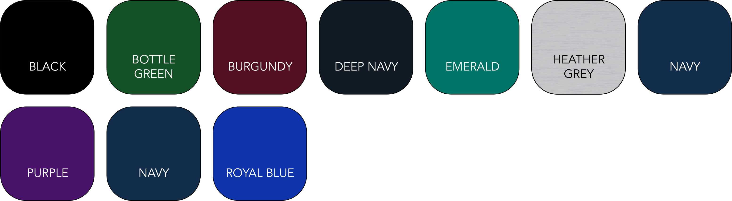 SS270 Children's Colour Range